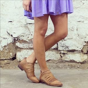 Free People Lost Valley Ankle Boot Strappy 38